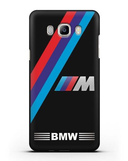 Чехол с логотипом BMW M Series силикон черный для Samsung Galaxy J5 2016 [SM-J510F]