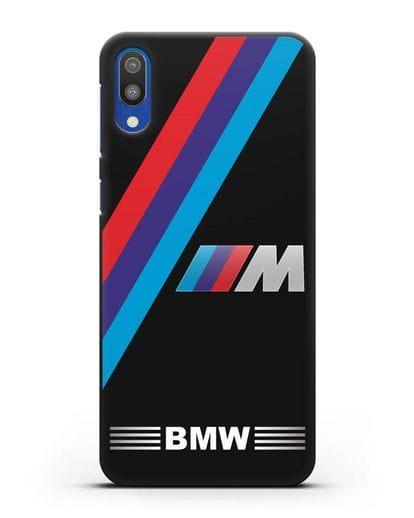 Чехол с логотипом BMW M Series силикон черный для Samsung Galaxy M10 [SM-M105F]