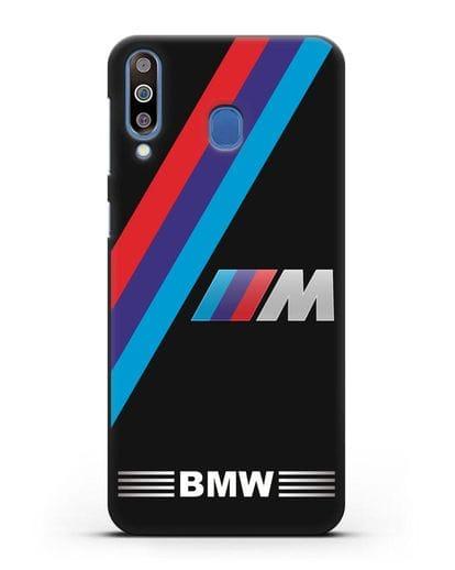 Чехол с логотипом BMW M Series силикон черный для Samsung Galaxy M30 [SM-M305F]