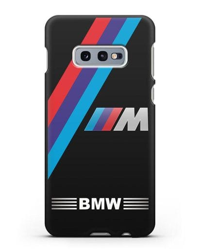 Чехол с логотипом BMW M Series силикон черный для Samsung Galaxy S10e [SM-G970F]