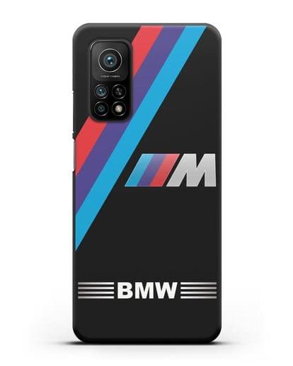 Чехол с логотипом BMW M Series силикон черный для Xiaomi Mi 10t Pro
