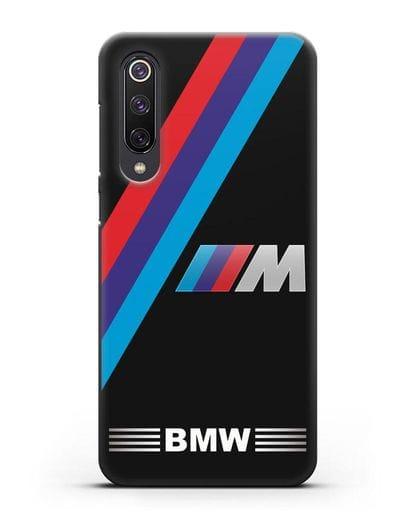Чехол с логотипом BMW M Series силикон черный для Xiaomi Mi 9 SE