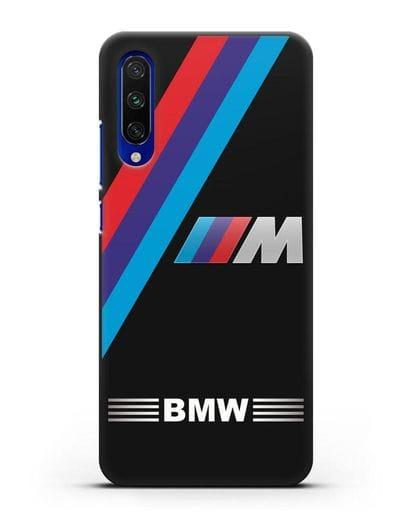 Чехол с логотипом BMW M Series силикон черный для Xiaomi Mi A3