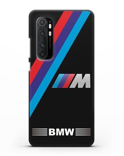 Чехол с логотипом BMW M Series силикон черный для Xiaomi Mi Note 10 lite