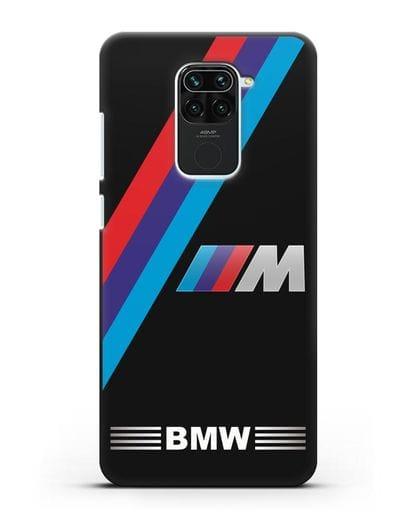 Чехол с логотипом BMW M Series силикон черный для Xiaomi Redmi 10X