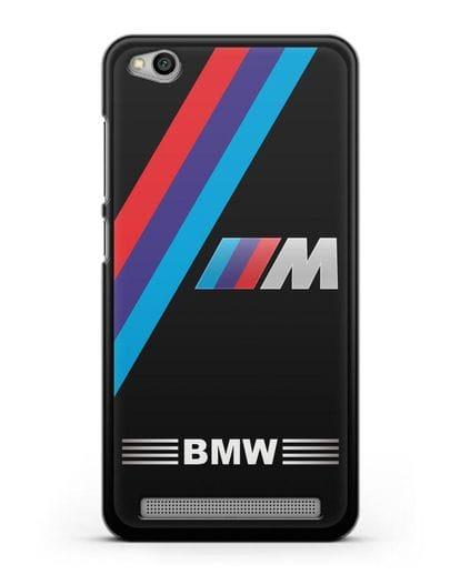 Чехол с логотипом BMW M Series силикон черный для Xiaomi Redmi 5A