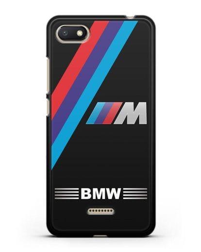 Чехол с логотипом BMW M Series силикон черный для Xiaomi Redmi 6A