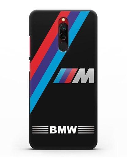Чехол с логотипом BMW M Series силикон черный для Xiaomi Redmi 8