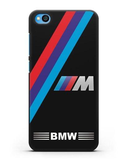 Чехол с логотипом BMW M Series силикон черный для Xiaomi Redmi Go