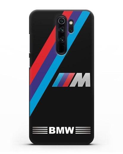 Чехол с логотипом BMW M Series силикон черный для Xiaomi Redmi Note 8 Pro