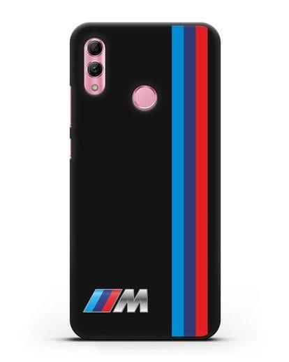 Чехол BMW M Perfomance силикон черный для Honor 10 Lite