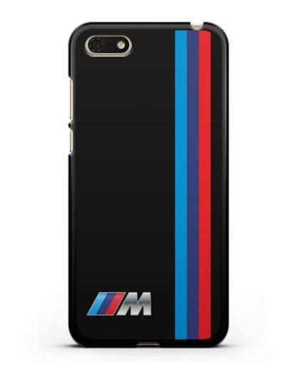 Чехол BMW M Perfomance силикон черный для Honor 7А