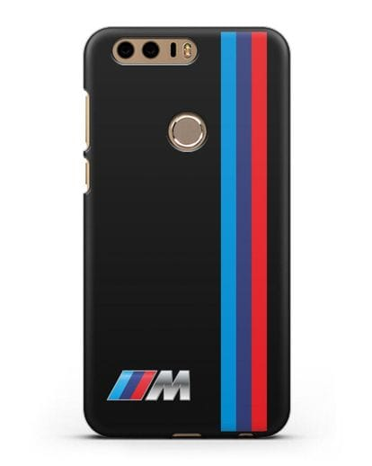 Чехол BMW M Perfomance силикон черный для Honor 8