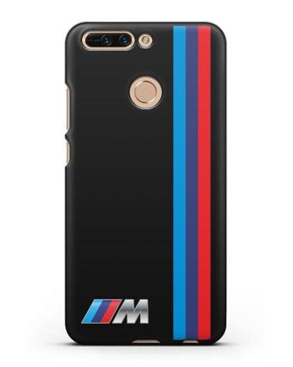 Чехол BMW M Perfomance силикон черный для Honor 8 Pro
