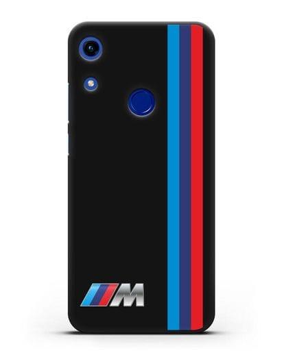 Чехол BMW M Perfomance силикон черный для Honor 8A