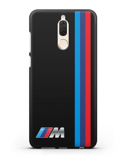 Чехол BMW M Perfomance силикон черный для Huawei Mate 10 Lite