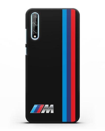 Чехол BMW M Perfomance силикон черный для Huawei Y8P