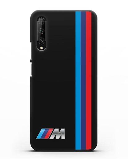 Чехол BMW M Perfomance силикон черный для Huawei Y9s