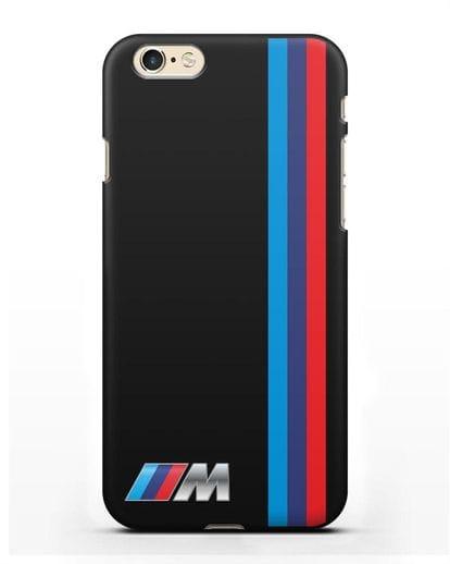 Чехол BMW M Perfomance силикон черный для iPhone 6