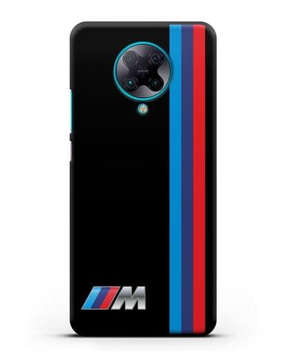 Чехол BMW M Perfomance силикон черный для Xiaomi Poco F2 Pro