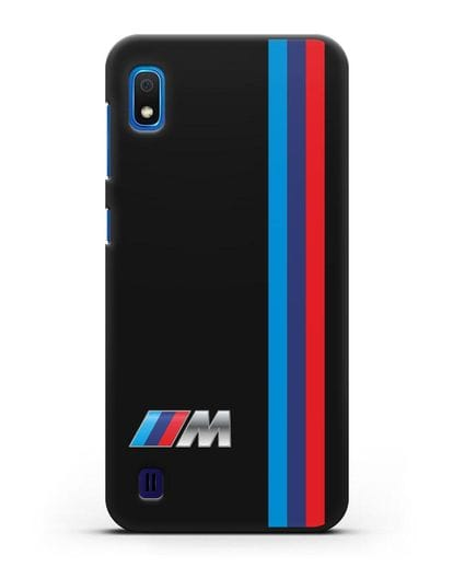 Чехол BMW M Perfomance силикон черный для Samsung Galaxy A10 [SM-A105F]