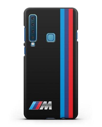 Чехол BMW M Perfomance силикон черный для Samsung Galaxy A9 (2018) [SM-A920]