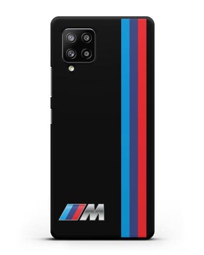 Чехол BMW M Perfomance силикон черный для Samsung Galaxy A42 [SM-A426B]