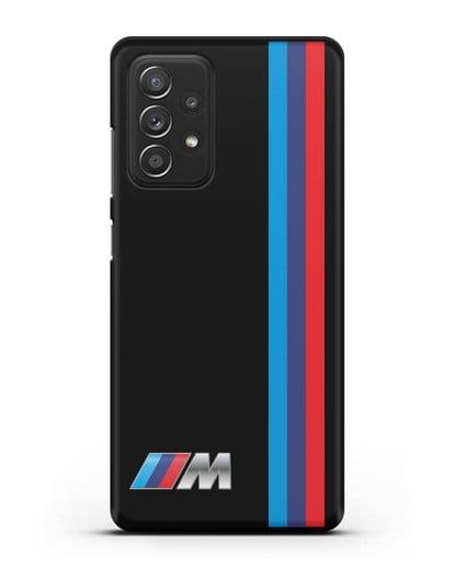 Чехол BMW M Perfomance силикон черный для Samsung Galaxy A52 5G [SM-A5260]