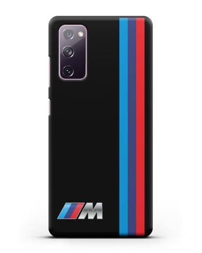 Чехол BMW M Perfomance силикон черный для Samsung Galaxy S20 FE [SM-G780F]