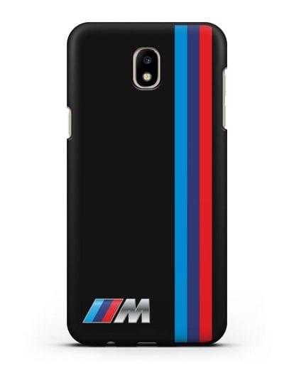 Чехол BMW M Perfomance силикон черный для Samsung Galaxy J5 2017 [SM-J530F]