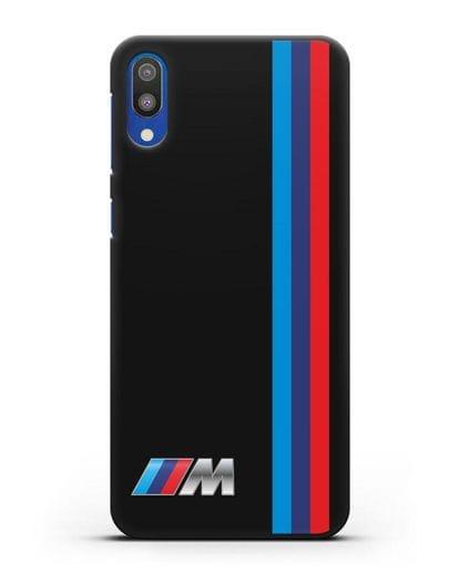 Чехол BMW M Perfomance силикон черный для Samsung Galaxy M10 [SM-M105F]