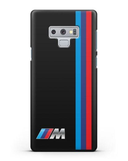 Чехол BMW M Perfomance силикон черный для Samsung Galaxy Note 9 [N960F]