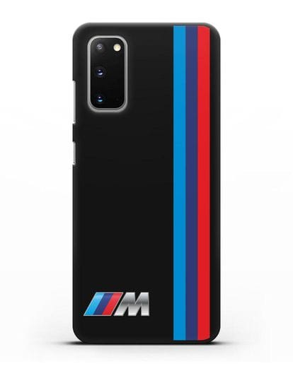 Чехол BMW M Perfomance силикон черный для Samsung Galaxy S20 [SM-G980F]