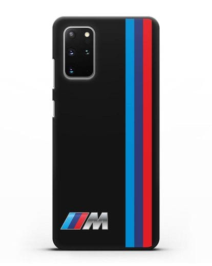 Чехол BMW M Perfomance силикон черный для Samsung Galaxy S20 Plus [SM-G985F]