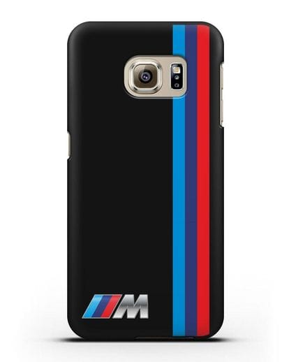Чехол BMW M Perfomance силикон черный для Samsung Galaxy S6 [SM-G920F]