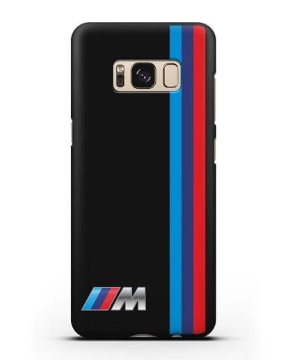 Чехол BMW M Perfomance силикон черный для Samsung Galaxy S8 [SM-950F]