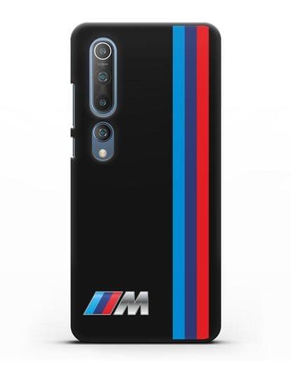 Чехол BMW M Perfomance силикон черный для Xiaomi Mi 10