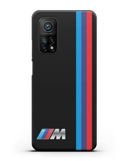 Чехол BMW M Perfomance силикон черный для Xiaomi Mi 10T
