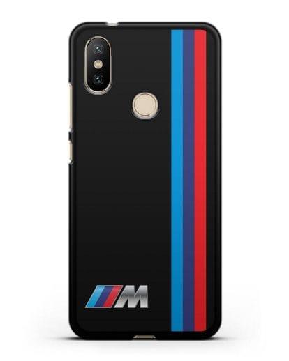 Чехол BMW M Perfomance силикон черный для Xiaomi Mi 6X