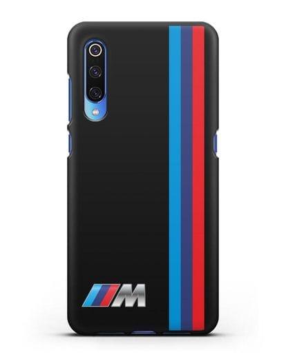Чехол BMW M Perfomance силикон черный для Xiaomi Mi 9