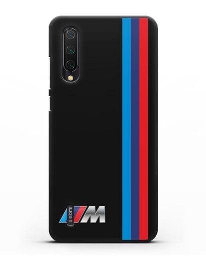 Чехол BMW M Perfomance силикон черный для Xiaomi Mi 9 Lite