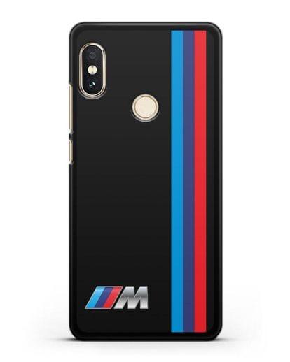 Чехол BMW M Perfomance силикон черный для Xiaomi Mi A2 Lite