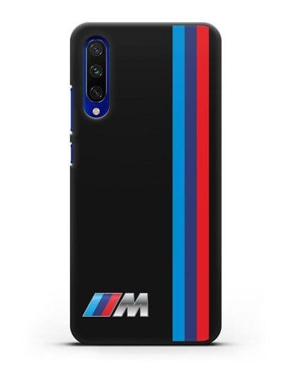 Чехол BMW M Perfomance силикон черный для Xiaomi Mi A3
