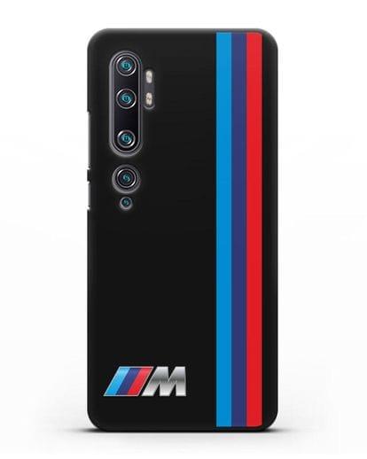 Чехол BMW M Perfomance силикон черный для Xiaomi Mi Note 10