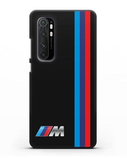 Чехол BMW M Perfomance силикон черный для Xiaomi Mi Note 10 lite