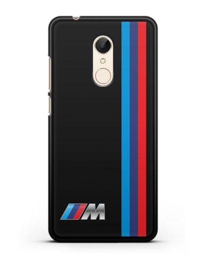Чехол BMW M Perfomance силикон черный для Xiaomi Redmi 5 Plus