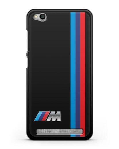 Чехол BMW M Perfomance силикон черный для Xiaomi Redmi 5A