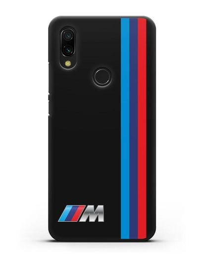Чехол BMW M Perfomance силикон черный для Xiaomi Redmi 7