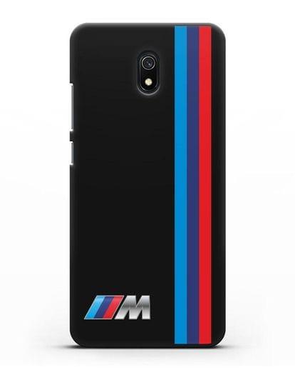Чехол BMW M Perfomance силикон черный для Xiaomi Redmi 8A