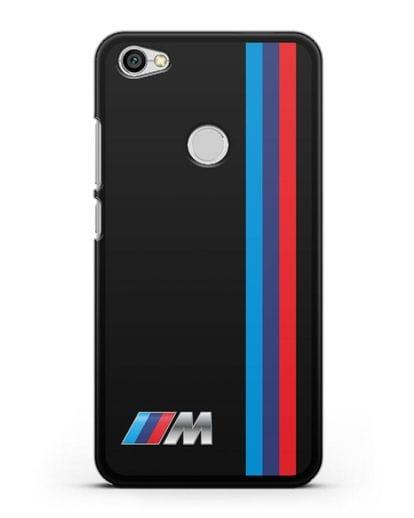 Чехол BMW M Perfomance силикон черный для Xiaomi Redmi Note 5A Prime